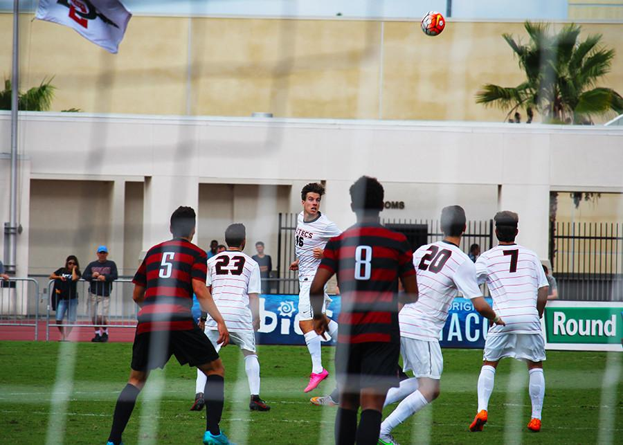 SDSU men's soccer heads to Ohio to take on Wright State