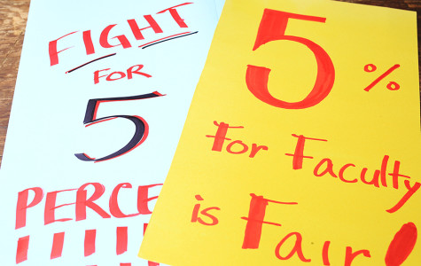 SDSU faculty holds on-campus demonstration for salary increase