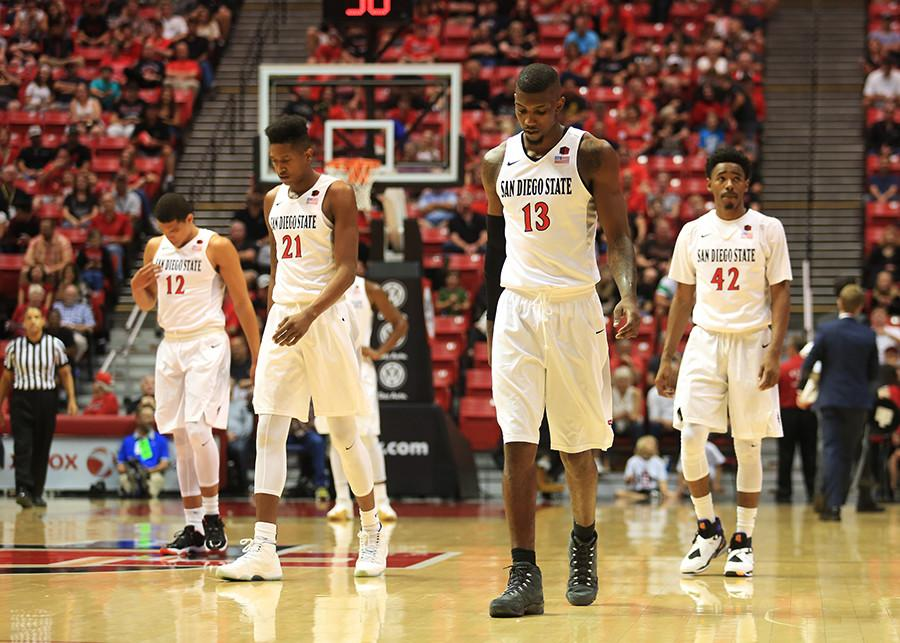 SDSU+basketball+upset+at+home+49-43+by+Little+Rock