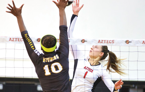 Psoma's journey from Greece paying dividends for SDSU volleyball