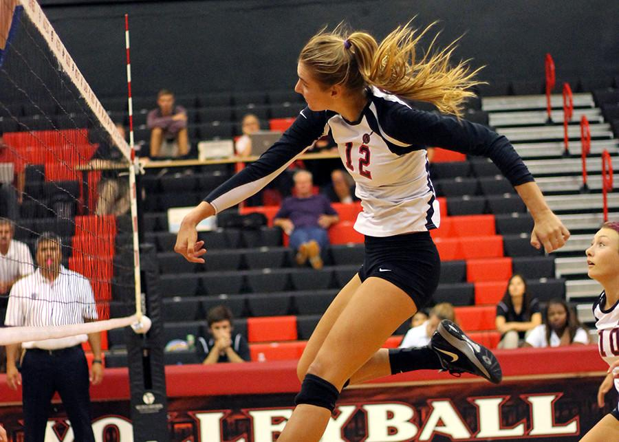 SDSU+volleyball+sweeps+UNLV+in+second+game+on+homestand