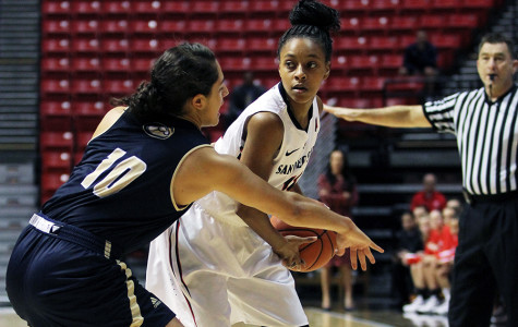 Women's basketball getting ready for undefeated University of San Diego