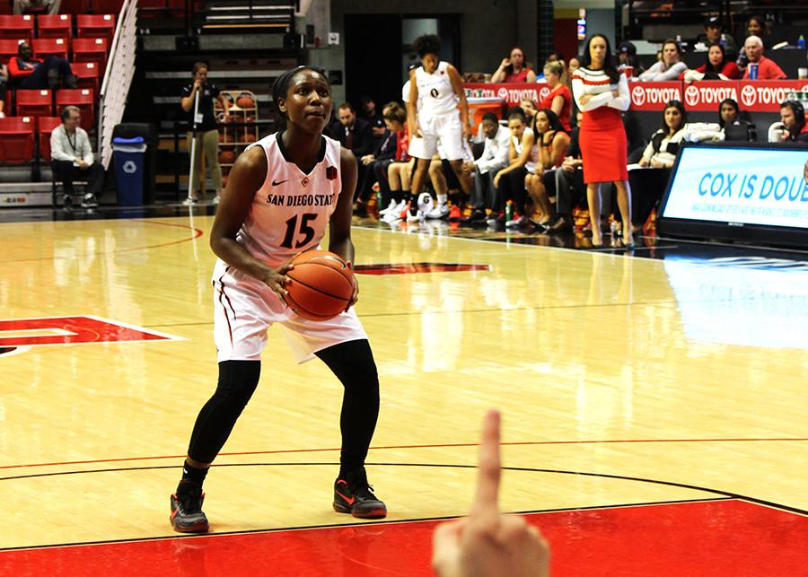 Aztec women's basketball loses gritty battle against Nevada, 70-64