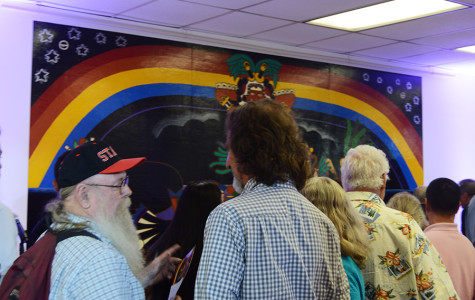 SDSU unveils historic rock 'n' roll mural