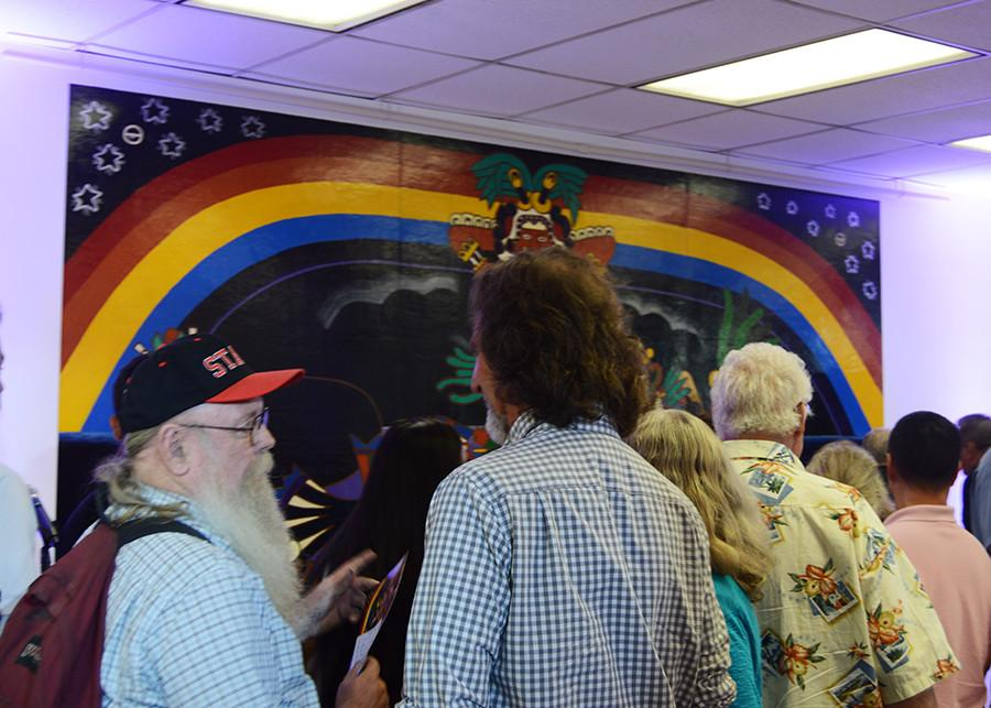 Sdsu Unveils Historic Rock N Roll Mural The Daily Aztec