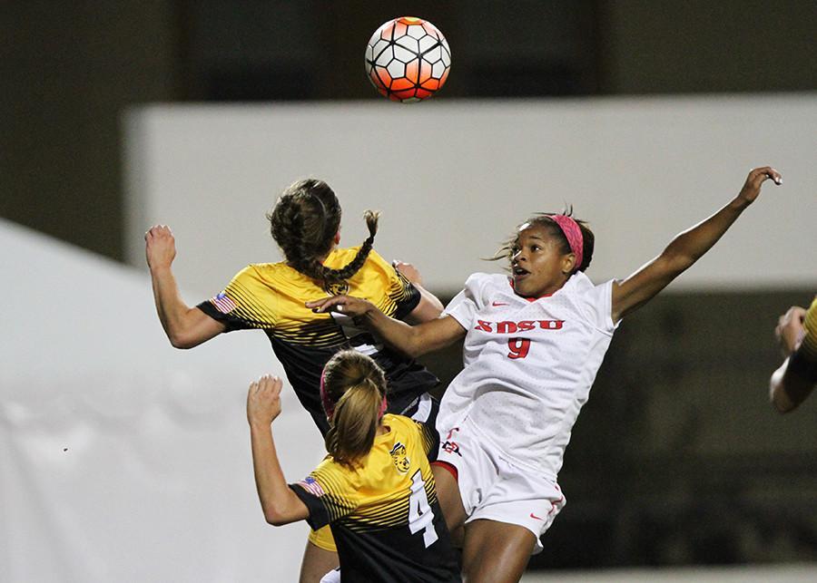Aztec women's soccer shuts out Colorado College, advances to MWC tourney final