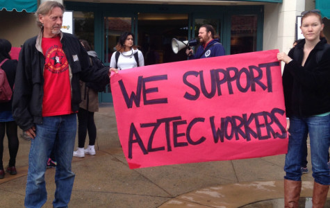 Student workers protest for right to unionize