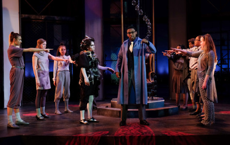 'Doctor Faustus' production is larger than life