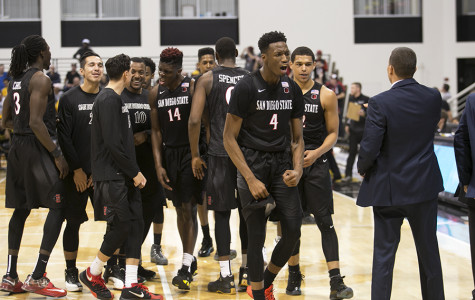 Aztec men's basketball sets Mountain West record in 67-52 win over UNLV