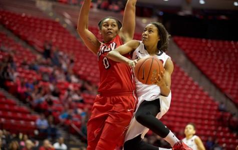 SDSU women's basketball drops eighth straight to UNLV, 55-41
