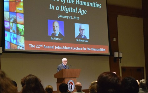 Humanities lecture explores issues in digital age