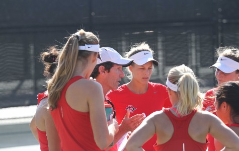 SDSU women's tennis confident for second half despite 4-3 loss to No. 44 Dartmouth