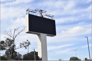 I-8 billboard gets a makeover