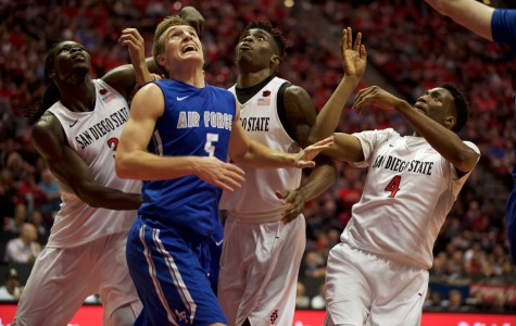Matt Shrigley steals the show as SDSU basketball defeats Air Force, 70-61