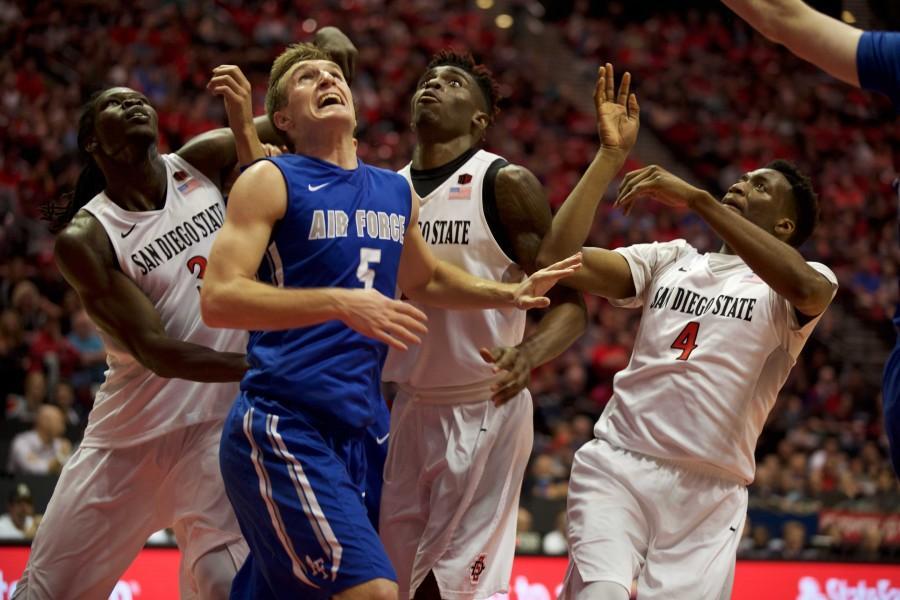 Matt Shrigley steals the show as SDSU basketball defeats Air Force, 70-61