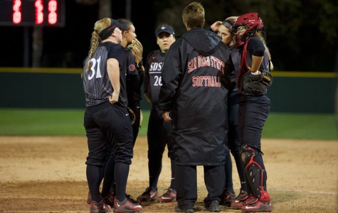 SDSU softball swept in doubleheader to close out San Diego Classic I