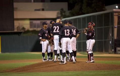 SDSU baseball downs Cal State Fullerton 7-2, splits season series 1-1