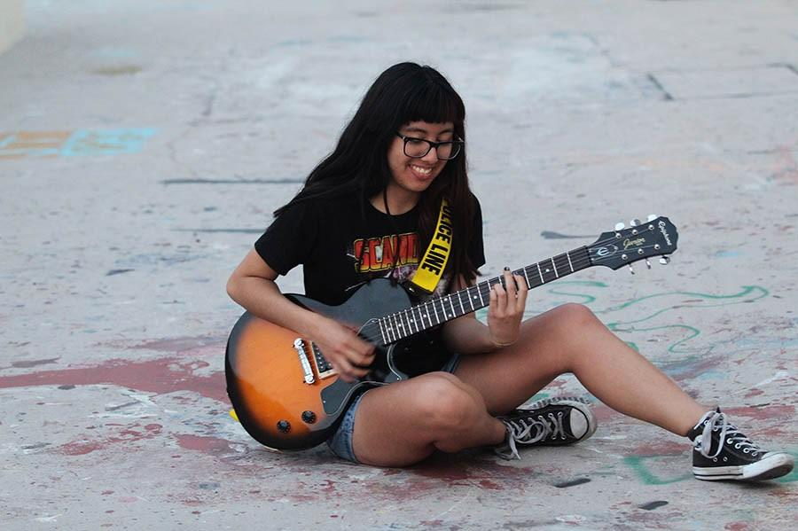 Chicana and Chicano studies freshman fights for representation with music