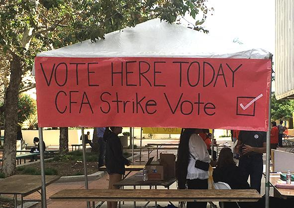 California Faculty Association plans 5-day strike in April