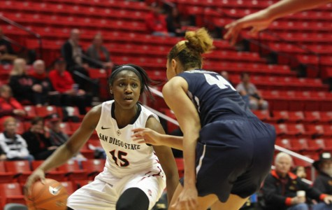 SDSU women's basketball makes it 3 in a row with 69-66 win over Air Force