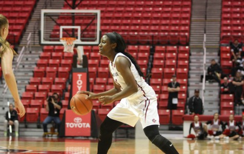 SDSU women's basketball extends win streak with 53-40 win over Wyoming