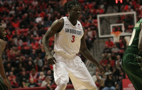 Angelo Chol happy with his transfer to SDSU basketball from Arizona