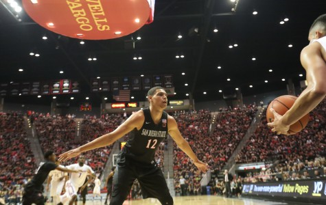 SDSU men's basketball takes frustrations out on New Mexico with 83-56 win
