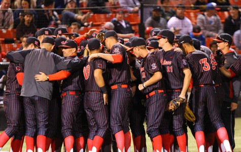 SDSU baseball loses opening matchup to cross-town rival USD, 9-6
