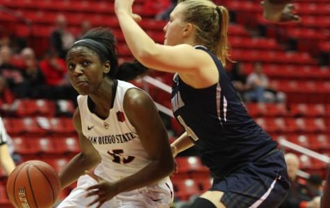 Aztecs women's basketball establishs first win streak of 2016 with 65-54 double OT win over Fresno State