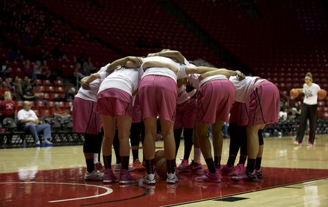 SDSU women's basketball falls to New Mexico on emotional senior night, 64-45
