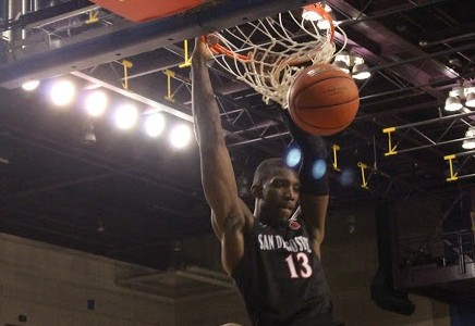 SDSU basketball finishes strong against San Jose State, 78-56