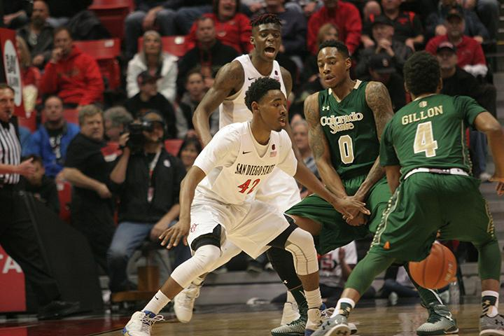 Notebook: Aztecs' defense comes in clutch against Colorado State