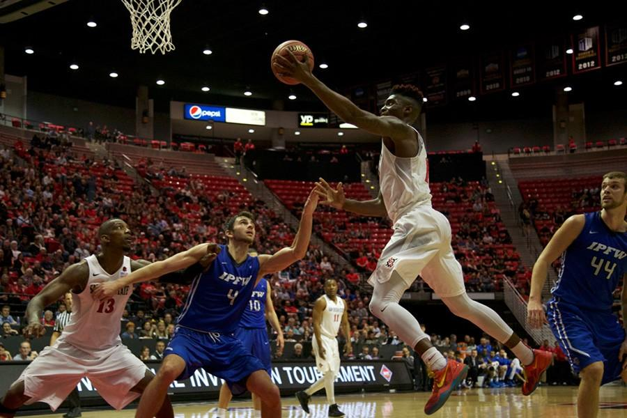 Great defense and offense to clash in SDSU men's basketball second round NIT matchup vs. Washington