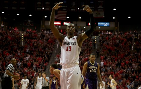 Photo gallery from SDSU men's basketball's 93-78 win over Washington