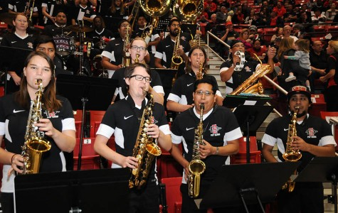 Pep band pumps up the SDSU spirit