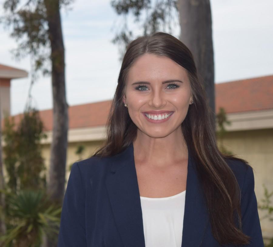 Executive Vice President candidate Bridget Hansen