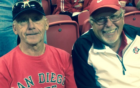 Fond memories and SDSU basketball victories keep two fans coming to MW Tournament every year
