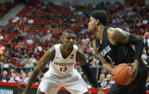 Halftime photo gallery: SDSU vs. Nevada in semifinals of MW Tournament