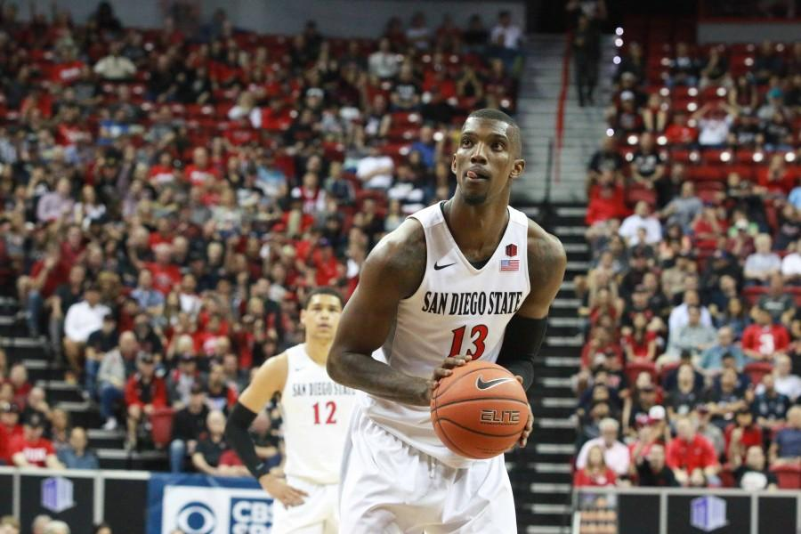Winston+Shepard+records+SDSU+men%27s+basketball%27s+first+triple-double+in+79-55+win+over+IPFW+in+NIT
