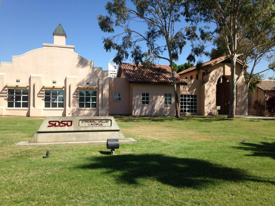 San Diego State's Imperial Valley Campus, located in Calexico.