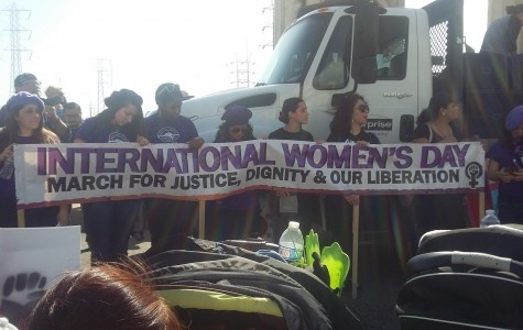 SDSU students attend International Women's Day March and Rally in LA