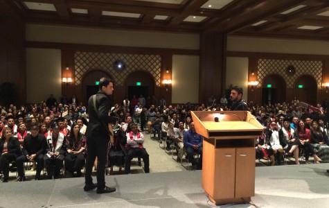 Una ceremonia multicultural en SDSU