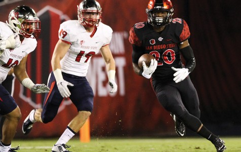 Who will be Donnel Pumphrey's backup next season for SDSU football?