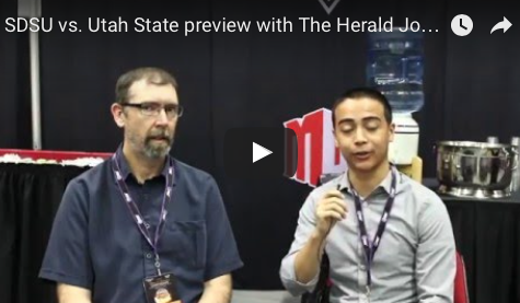 VIDEO: The Herald Journal's Shawn Harrison discusses SDSU vs. Utah State