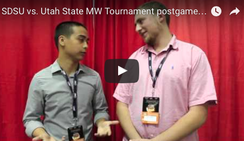 VIDEO: SDSU vs. Utah State MW Tournament postgame analysis