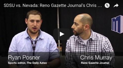 VIDEO: Reno Gazette Journal's Chris Murray discusses Nevada freshman Cameron Oliver