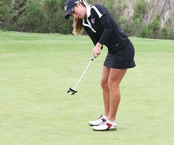 Emma Henrikson closes out SDSU women's golf career on top