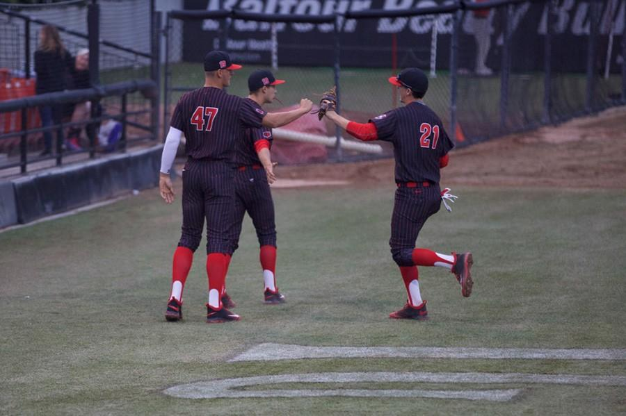 SDSU baseball brings out the lumber for 7-3 victory over USD