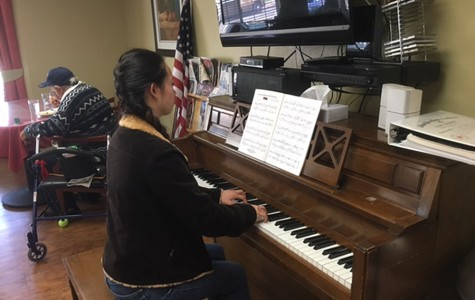 Student club returns to heal patients through music