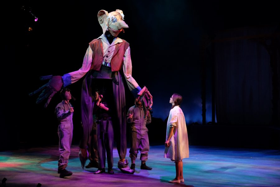 'The BFG' shares wonder to theater lovers of all ages